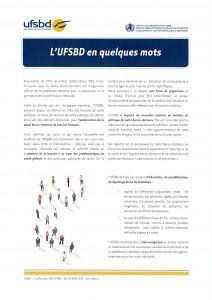 BROCHURE PRESENTATION miniature UFSBD EN QQ MOTS francais p1